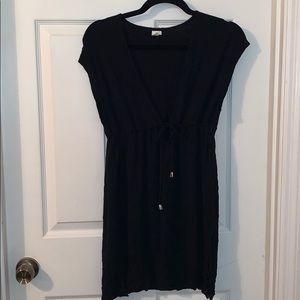 Black merona swimsuit cover up medium